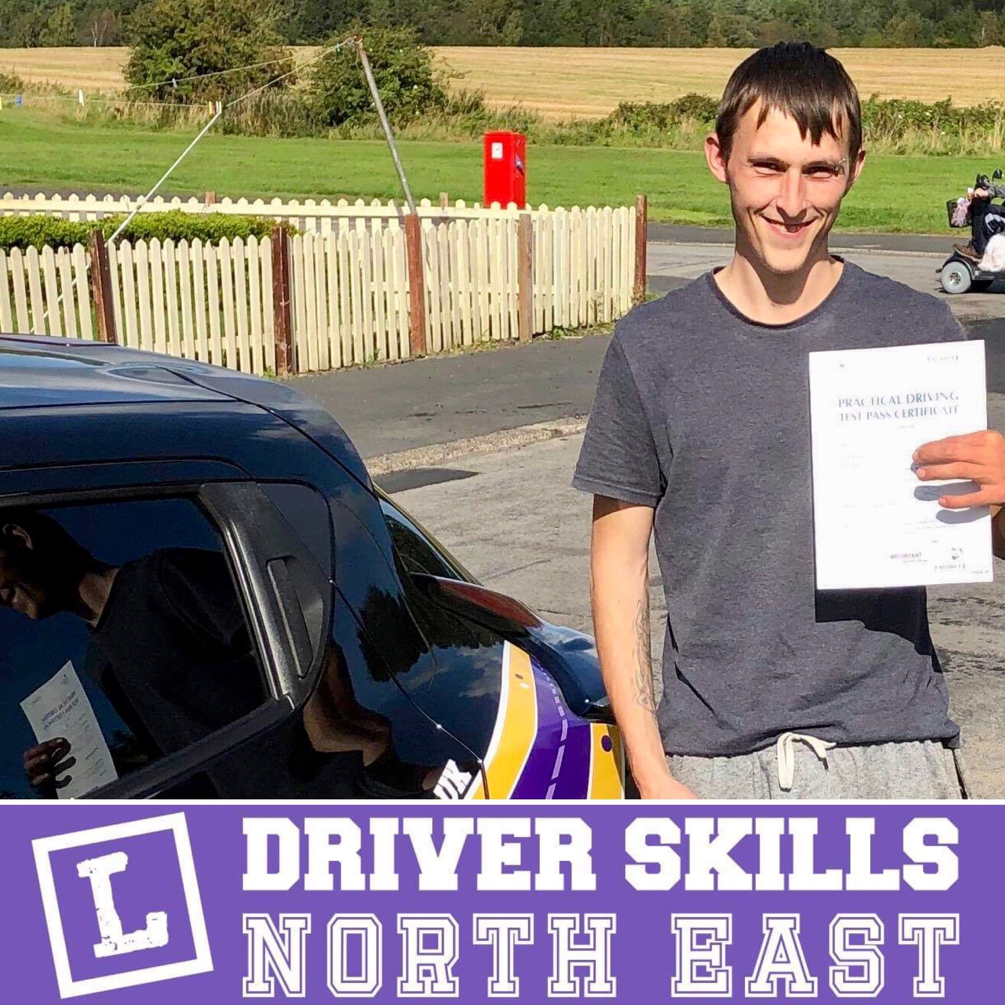Peter Passed His Intensive Course
