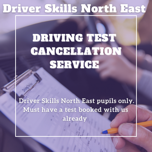 Driving Test Cancellation Service